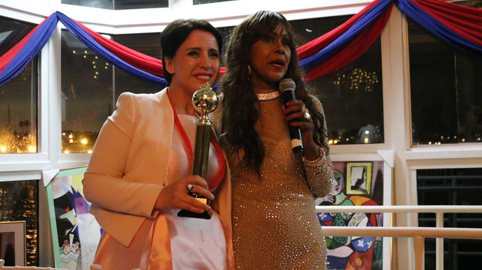Mirela Sula nderohet në Los Anxhelos , rrëmben çmimin prestigjioz