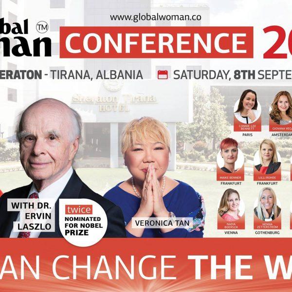 'Global Woman' me një tjetër konferencë motivuese në Tiranë -'Ti mund të ndryshosh botën'