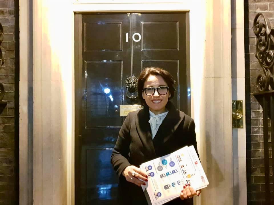Mirela Sula ftohet nga sekretarja britanike e thesarit Elisabeth Truss!